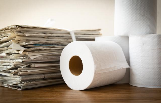 トイレットペーパー 古紙