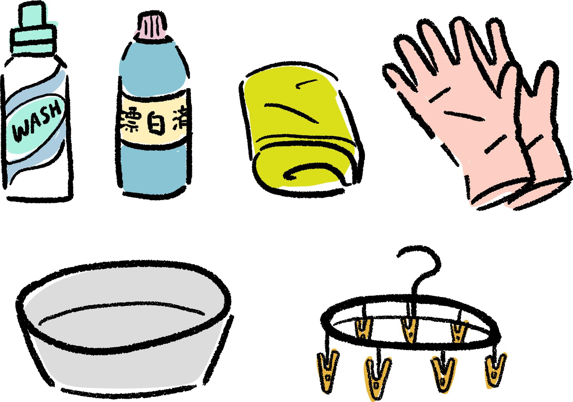 マスク 手洗い