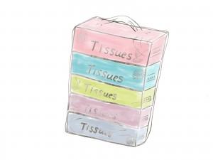 5箱パックティッシュボックス