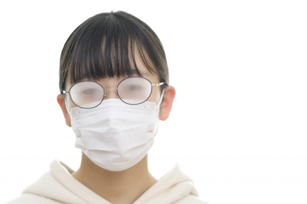 マスクで眼鏡が曇る